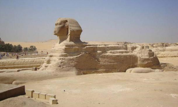 Giza Plateau - Great Sphinx - front view
