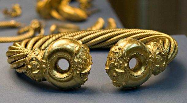"The ""Great Torc"" from the English Snettisham Hoard,"