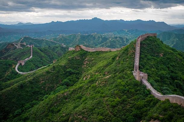 The Great Wall of China at Jinshanling.
