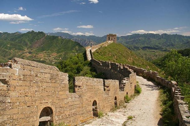 Great Wall of China near Simatai. (CC BY-SA 4.0)