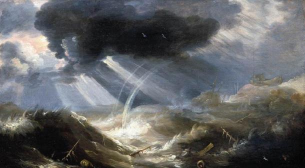 The Great Flood myth is a cataclysm that is prevalent in many cultures throughout the world. (JarektUploadBot / Public Domain)