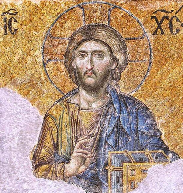 "Greek Orthodox Church - Mosaic of Christ Pantocrator / ""ruler over all"". (Soerfm / CC BY-SA 3.0)"