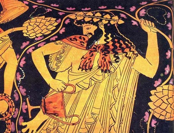 The Greek god Dionysus.