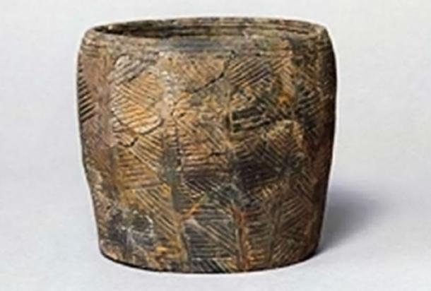 Grooved ware pot from Durrington Walls. (Antiquity)