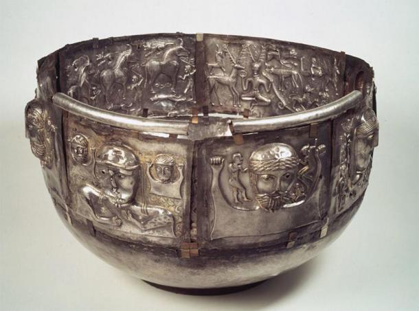 The Gundestrup cauldron. (British Museum)