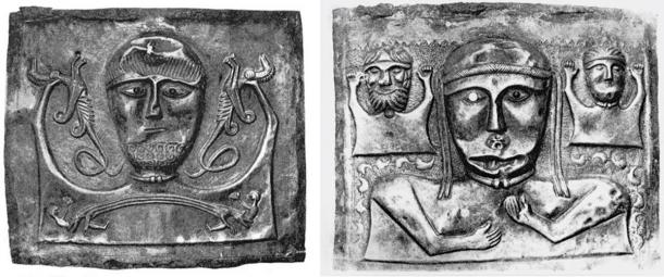 The first level depicted in male (left) and female (right) plates. (Author provided)