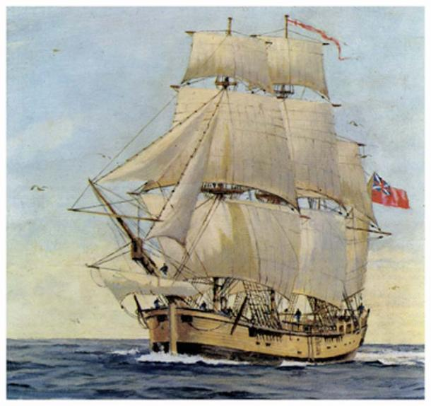 HMS Endeavour (Archives of New Zealand/ CC BY 2.0)