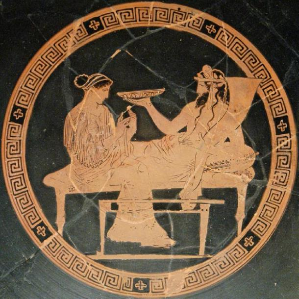 Hades tricked Persephone into eating in the underworld so she would have to stay. (Jastrow / CC BY-SA 2.5)