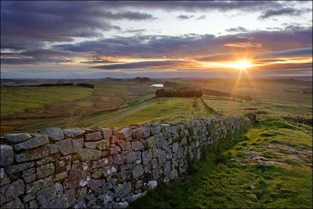 Hadrian's Wall. Image: The Siberian Times