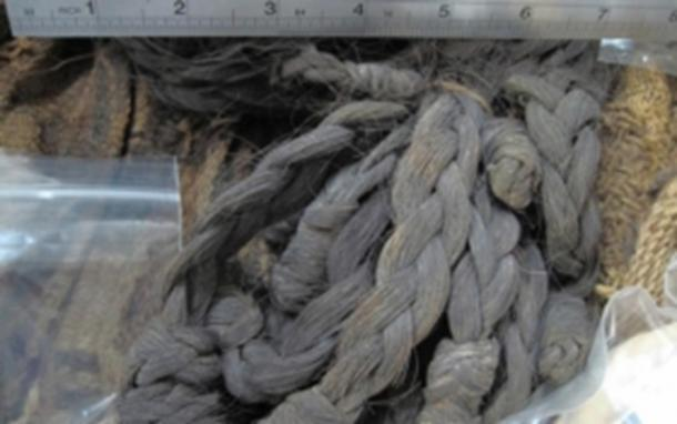 Hair from one of the oldest mummies studied at the Coyo East site, near San Pedro de Atacama in Chile.
