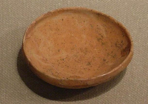 Hajiki from the Koriyama Site, Sendai, Miyagi prefecture, Japan. These unglazed earthenware plates were used for everyday purposes as well as in rituals. They can be found in ancient Japanese tombs, and help researchers date archaeological sites.