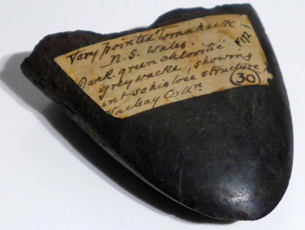 Hand-axe fragment.