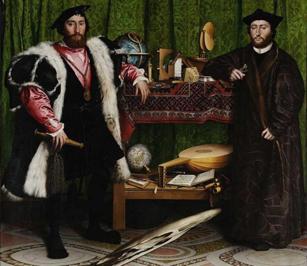 Hans Holbein's 'The Ambassadors.'