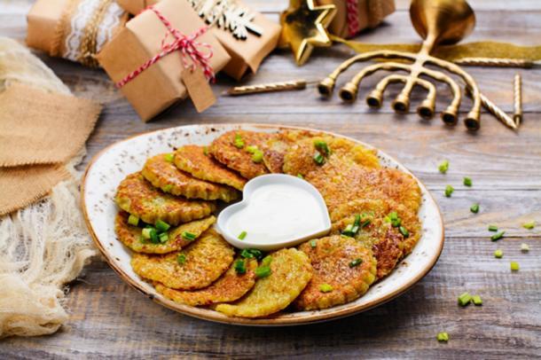 Traditional Hanukkah dish latkes (happy_lark / Fotolia)