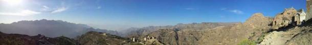 A Haraaz landscape, Yemen.