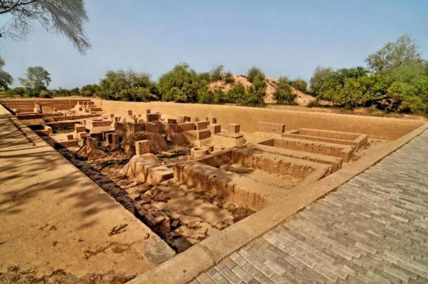 Harappa archaeological site in Punjab, Pakistan. (robnaw /Adobe Stock) This was once one of the largest cities of the Harappan culture.