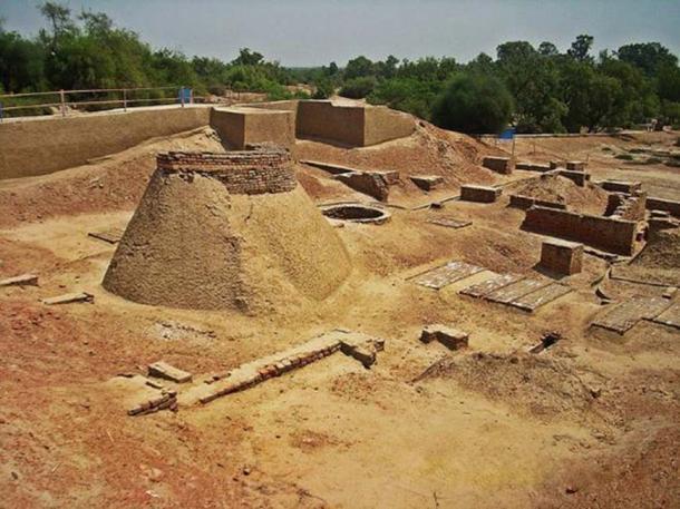 Harappa ruins. (Hassan Nasir/CC BY SA 3.0)