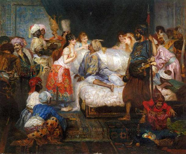 Imperial Harem of the Ottoman Empire Served the Sultan in More ...