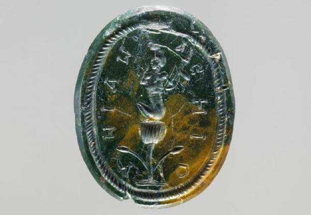 Harpocrates seated on a lotus. (The Met Museum / Public Domain)