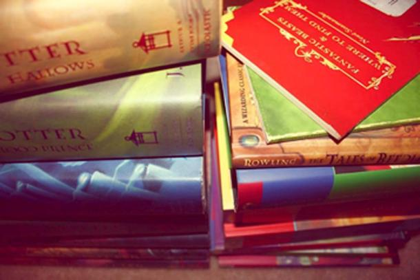 Harry Potter books removed from the school library. (Halle Stoutzenberger / CC BY-SA 2.0)