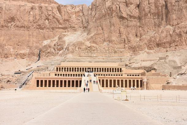 Hatshepsut's mortuary temple.