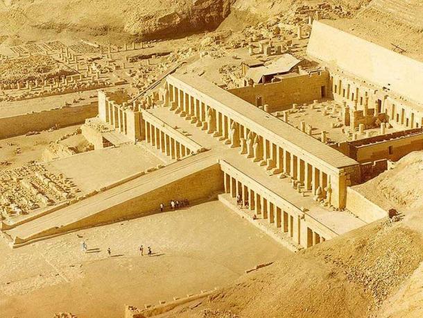 Hatshepsut's Temple, Deir el-Bahari, Luxor.