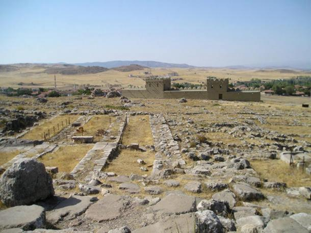 Hattusa, the Hittite capital.