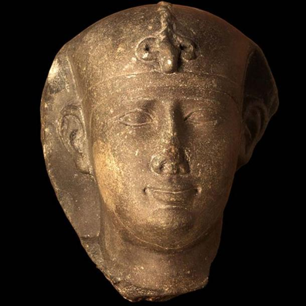Head of Nectanebo II, Museum of Fine Arts of Lyon.