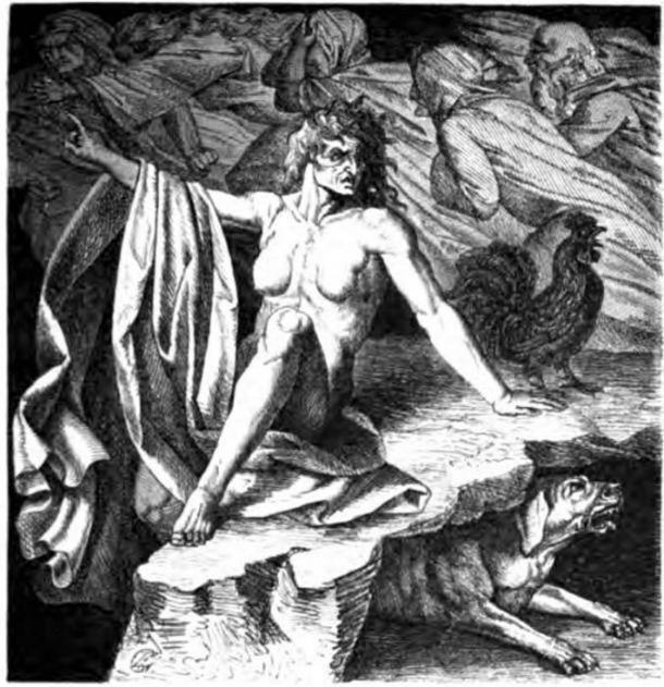 Hel and the dog Garm. ( Public Domain ) Hel is a Norse goddess overseeing another of the realms of the afterlife, Helheim.