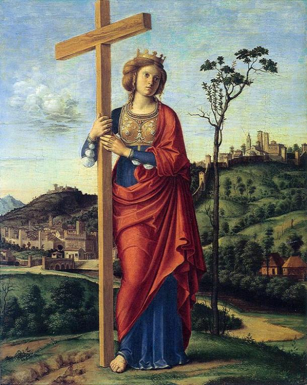 Helena of Constantinople (1495) by Cima da Conegliano