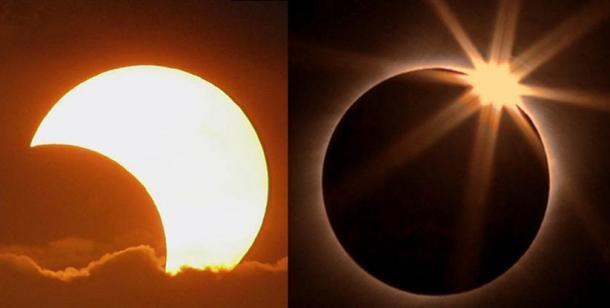 Helios-Sun first kisses Selene-Moon to awaken her. Then he gives her a diamond ring and they consummate their marriage.