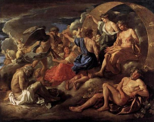 'Helios and Phaeton with Saturn and the Four Seasons' (1635) by Nicola Poussin. (Public Domain)
