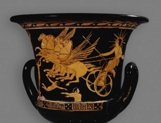 Helios on a red-figure calyx-krater from 420 BC. (The Trustees of the British Museum/CC BY NC SA 4.0)