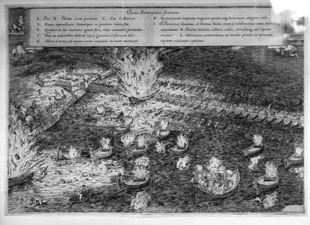 Hellburners at Antwerp by Famiani Strada.