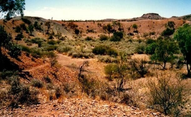 Henbury Meteorites Conservation Reserve, located 145 kilometers south west of Alice Springs, is estimated to have hit the earth's surface 4,700 years ago, it contains 12 craters in total.