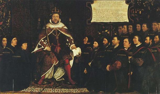 'Henry VIII and the Barber Surgeons' (begun c. 1543) by Hans Holbein. (Public Domain)
