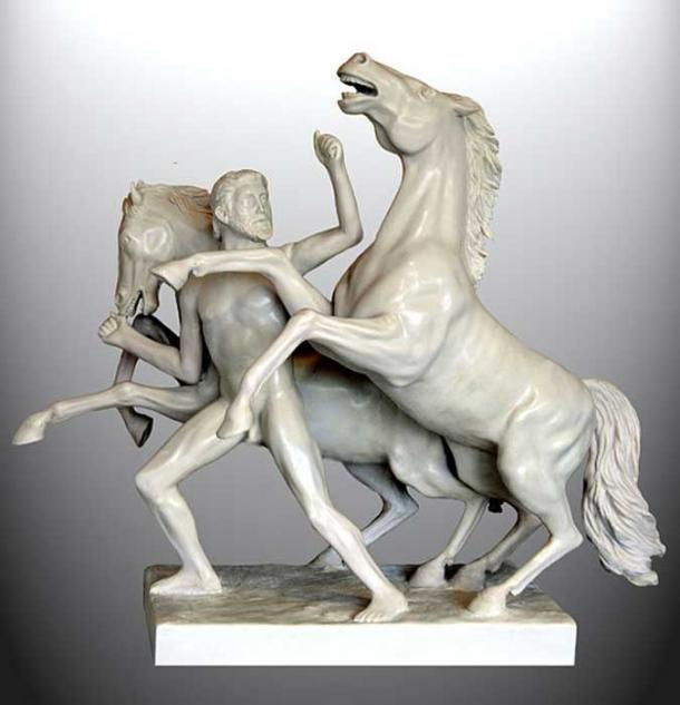 Heracles and the Horses of Diomedes