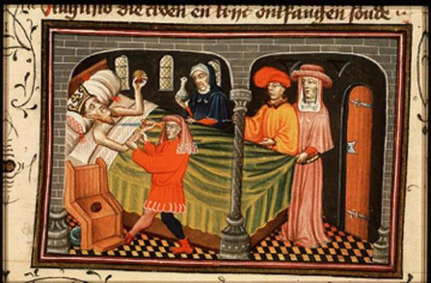 Herod the Great tries to commit suicide. (Shakko / Public Domain)