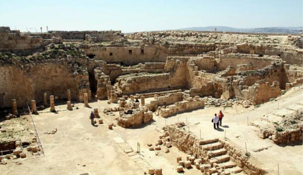 Herodium excavations