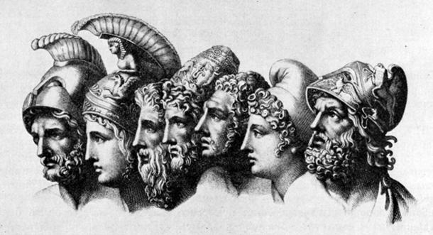 Heroes of The Iliad by Tischbein. (Public Domain)