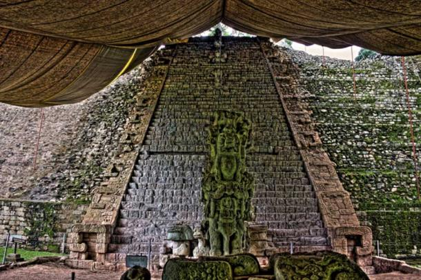 Hieroglyphic Stairway at Copan, Honduras. (CC BY-NC-SA 2.0)