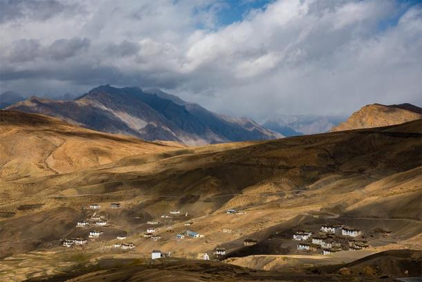 Hikkim is small village in Himalayas of India. (Saurabh Chatterjee / CC BY-NC 2.0)