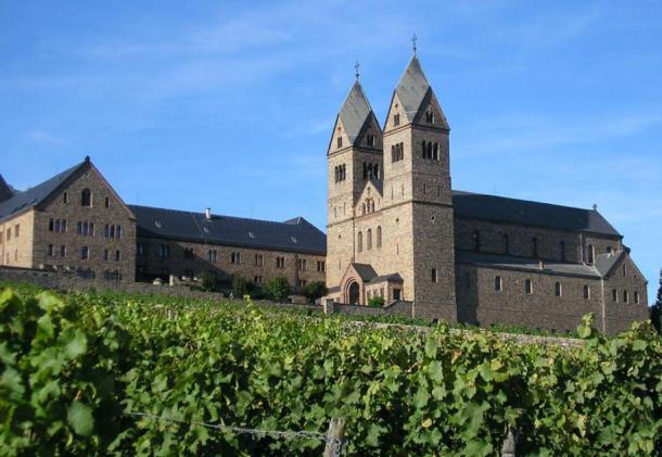 Hildegard Abbey, near Wiesbaden, Germany. (Moguntiner / CC BY-SA 3.0)