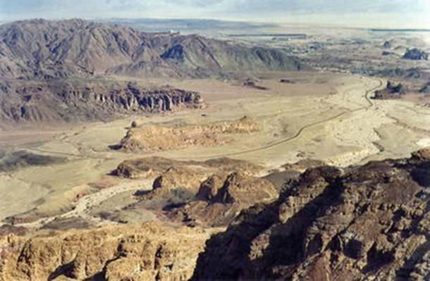 Hill of Slaves in Timna Valley.