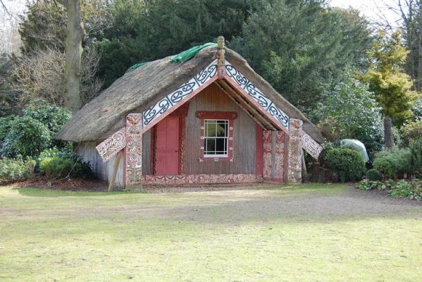 Hinemihi at Clandon Park, Surrey