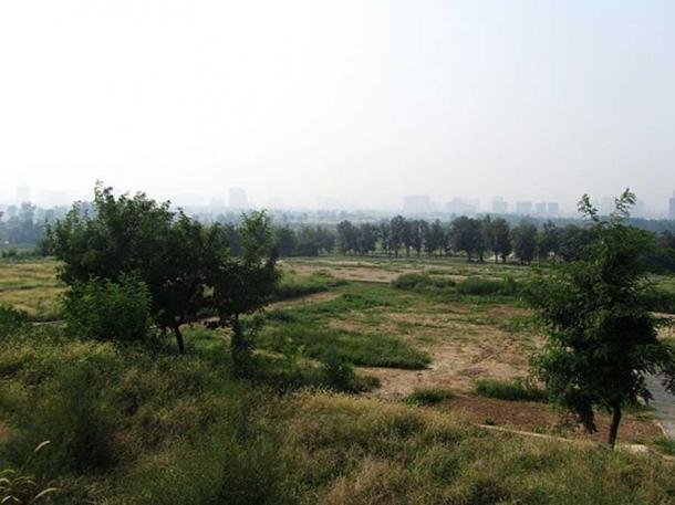 Historic site of Weiyang Palace. (CC BY SA 3.0)