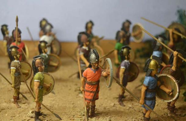Hittite soldier models. (Joanbanjo/CC BY SA 4.0)