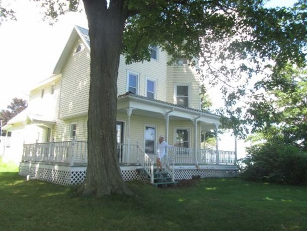 Augustus Hoffman's house on Charles Point.