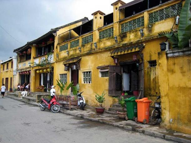 Hoi An streetscape: most locals have been priced out of the centre of town and now live on the outskirts. Suree Pritchard/AAP