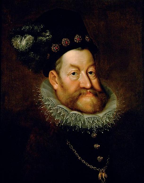 Portrait of Holy Roman Emperor Rudolf II (1590s) by Hans von Aachen.
